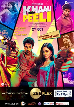 Khaali Peeli (2020) 720p WEBRip Multi Audio [Hindi + Tamil + Telegu] ⭐1.1 GB⭐ ESub AAC 2CH x264 - Shadow (BonsaiHD)